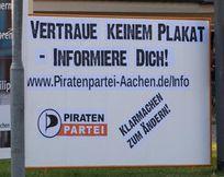 Wahlplakat 2009 Piratenpartei