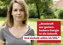 Wahlwerbeplakat 2009 der SPD