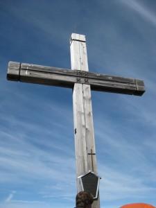 Gipfelkreuz auf der Lachenspitze